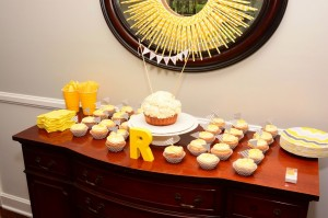 Reynolds' First Birthday {A Little Past – Due}