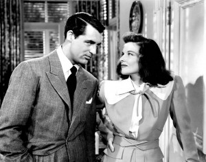 (with the dapper Cary Grant)