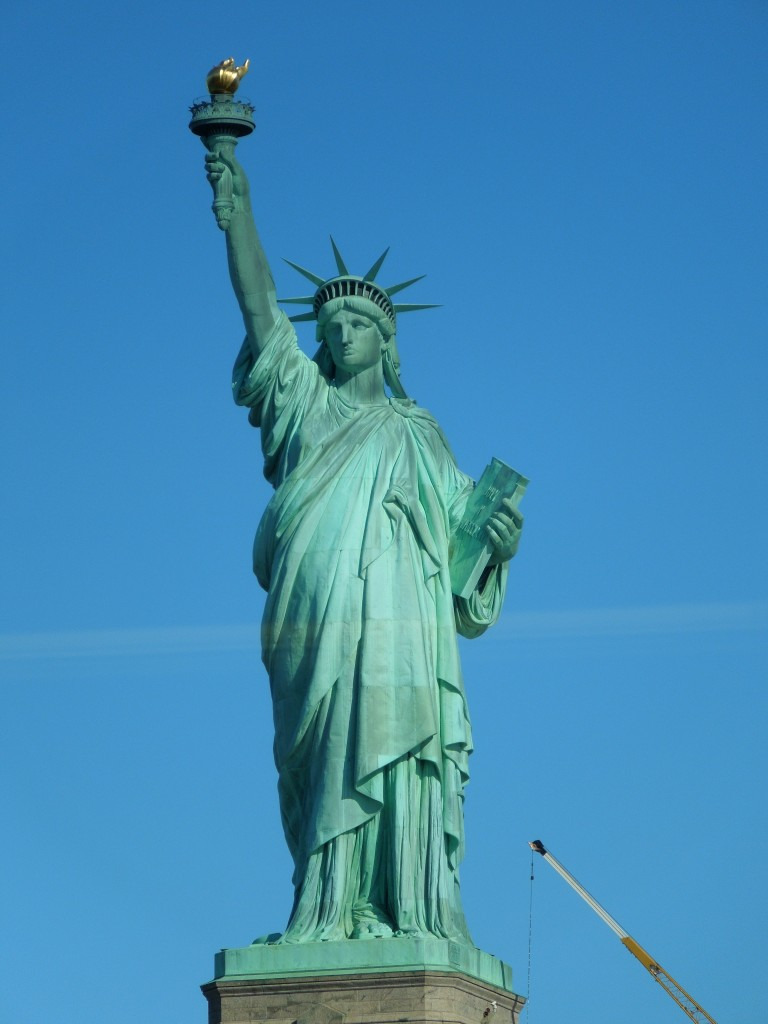 Lady Liberty - she was absolutely stunning. {2012}