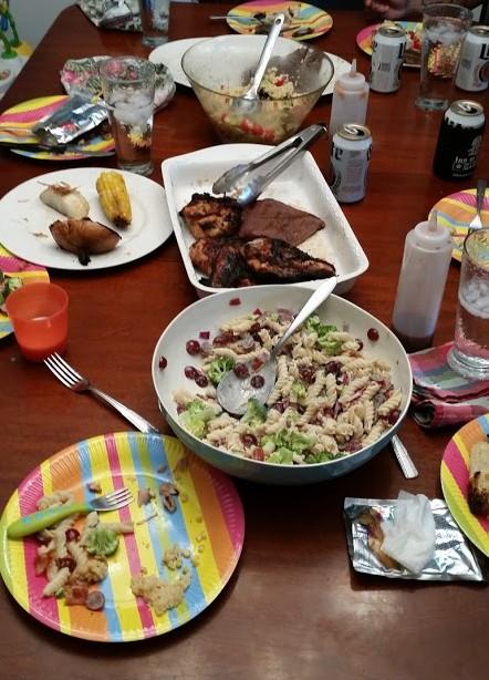 impromptu dinner