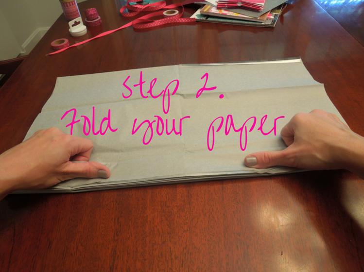 Step 2. fold