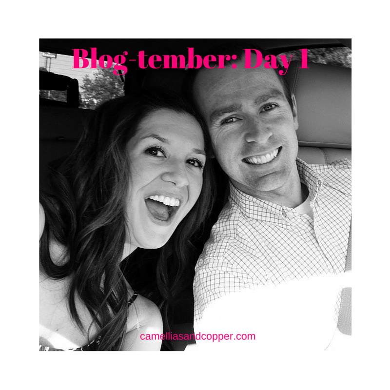 Blog-tember- Day 1