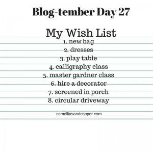 Blog-tember Challenge: Day 27