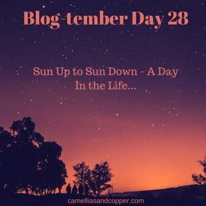 Blog-tember Challenge: Day 28