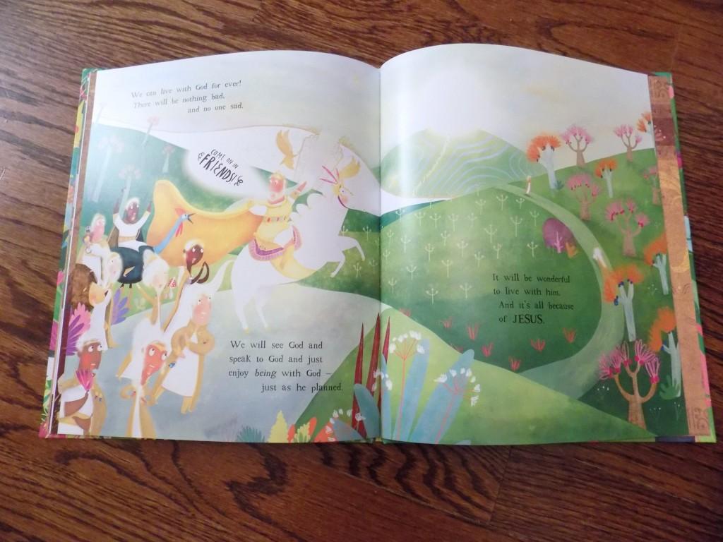 The Garden Curtain Cross An Easter Book