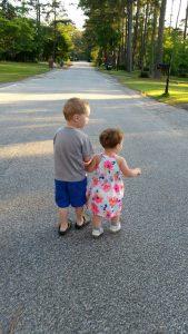 Walking With Kids…