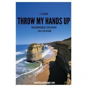 I Throw My Hands Up!