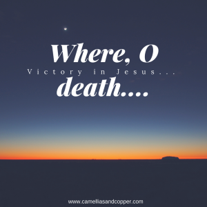 Where, O Death, Is Your Sting?