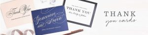On Writing Thank You Notes…