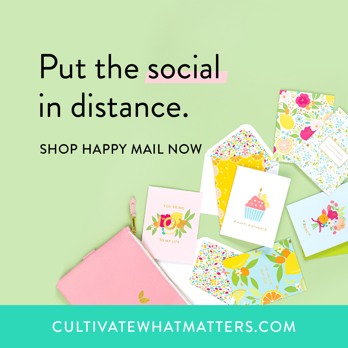Cultivate What Matters!
